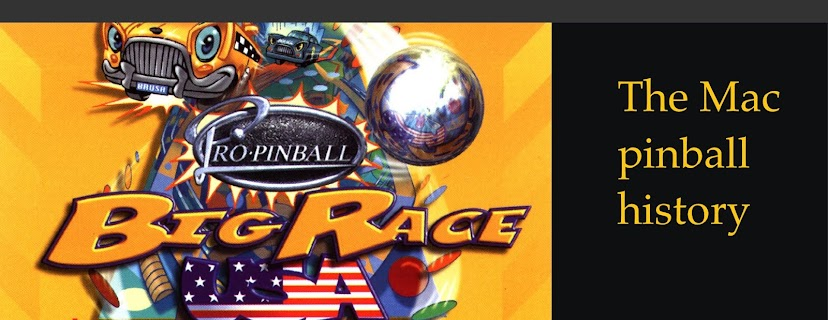 The Mac pinball history