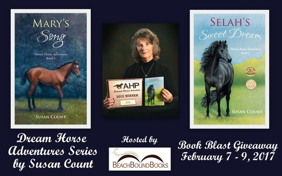 Dream Horse Adventures written by Susan Count.