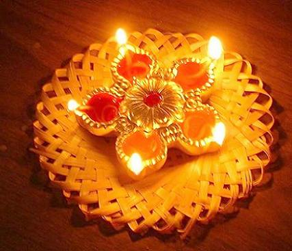 Beautiful Diya deepa Diwali greeting wallpapers