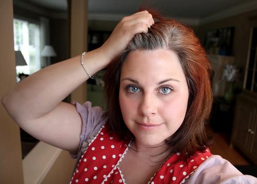 how bourgeois gray hair posts dark brown hairs