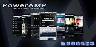 Aplikasi Android Poweramp Music Player