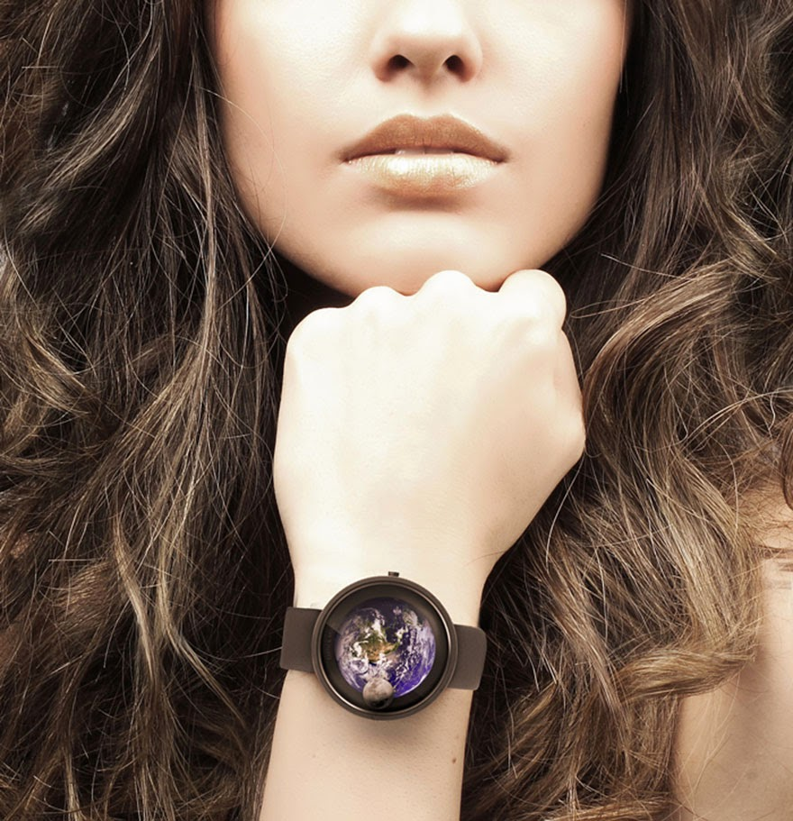24 Of The Most Creative Watches Ever - Earth And Moon Watch