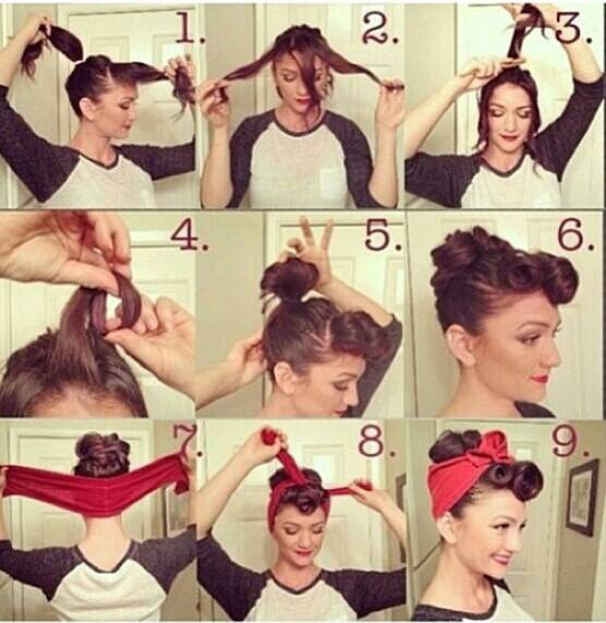 Come fare un'acconciatura da pin up | Pin-up hairstyle tutorial