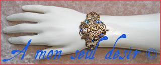 bracelet fée féerique elfique elfe bijou arwen galadriel magie blanche elven fairy jewel