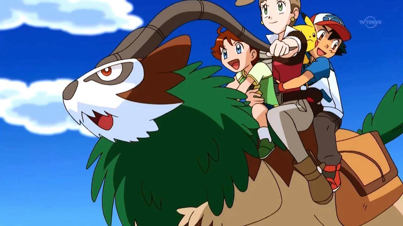 Gogoat Pokemon While gogoat plays with tony,