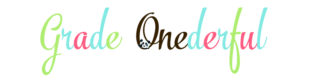 Grade ONEderful: A First Grade Teaching Blog