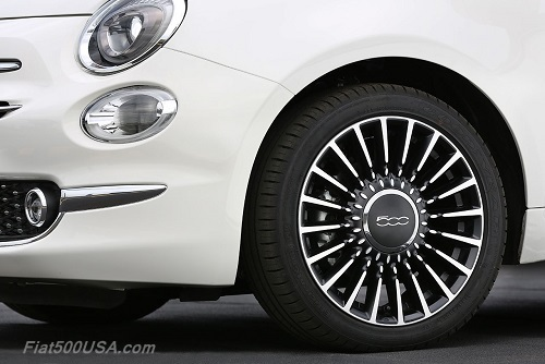 New Fiat 500 Wheels