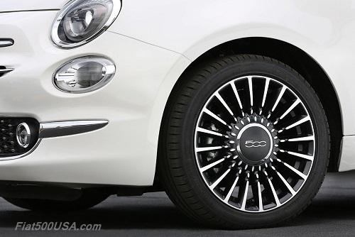 New Fiat 500 Wheels