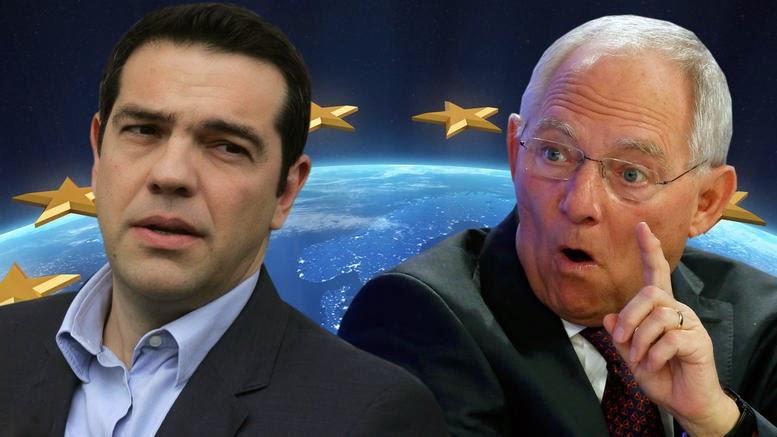 Newsweek: Μεγαλύτερη απειλή από τον Τσίπρα για την ευρωζώνη, ο Σόιμπλε!