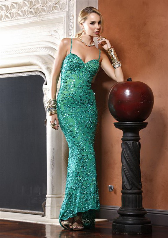 Magic Dress UK Prom: Sequined Dresses Should be Your 2013 Fashion