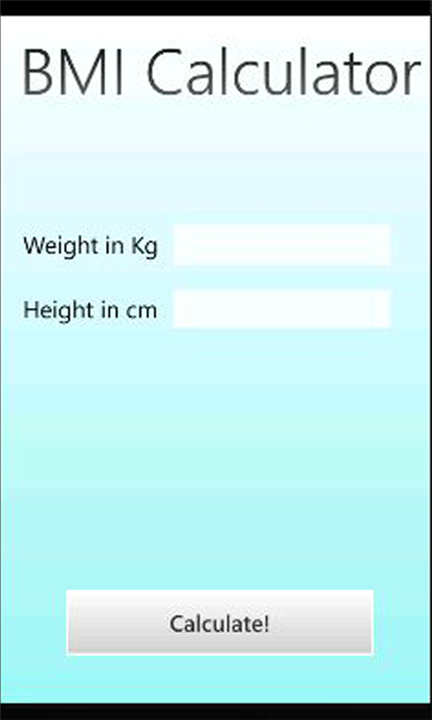 Get bmi calculator code