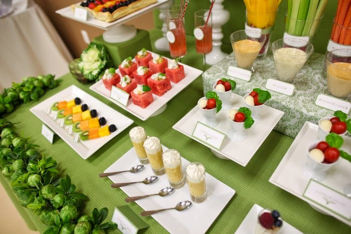 Mesas Buffet Elegantes, parte 1