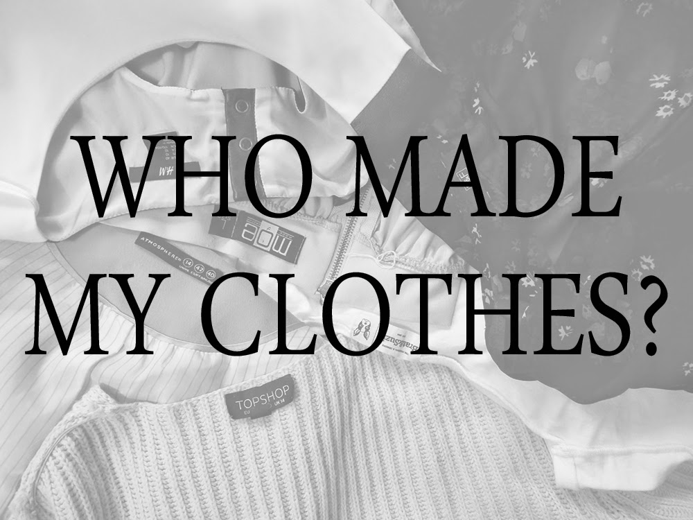 Fashion Revolution, Fashion Revolution Day, Who Made My Clothes, fashion conscience, eco fashion, #fashrev, #whomademyclothes