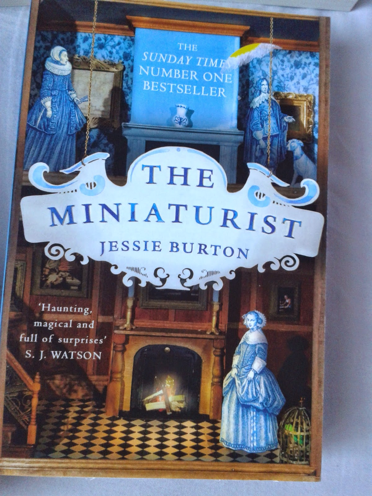 The Miniaturist front cover