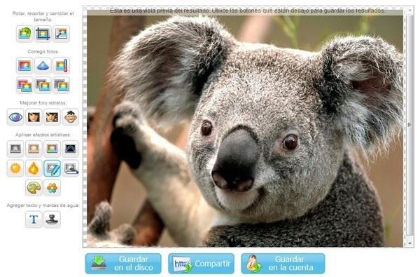 Effetti foto gratis per modificare immagini online for Effetti foto online