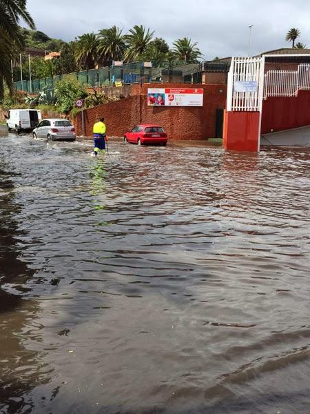 Fotos granizo y fuertes lluvias Gran Canaria 23 marzo
