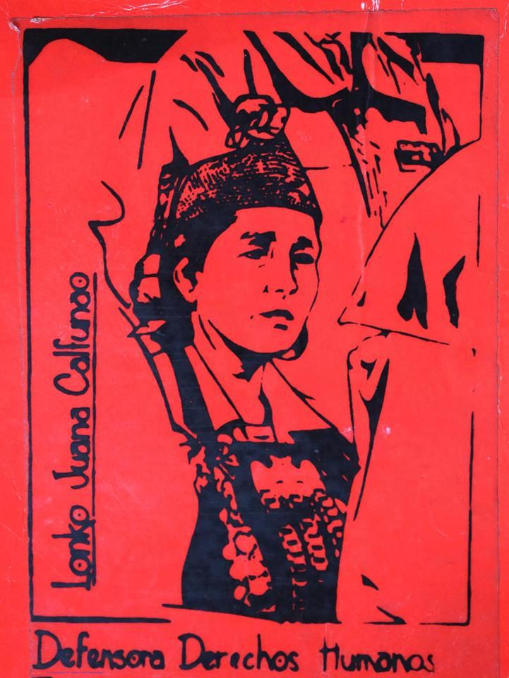 Lonko Juana Calfunao asediada por la corrupción $hilena