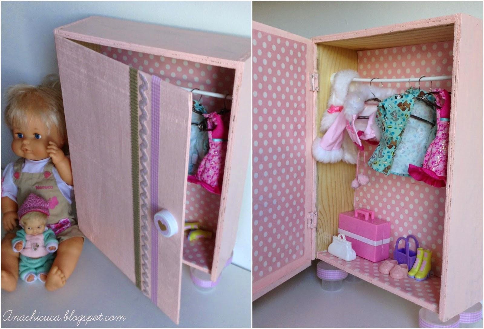 Anachicuca armario de mu ecas diogenero - Armario para guardar juguetes ...