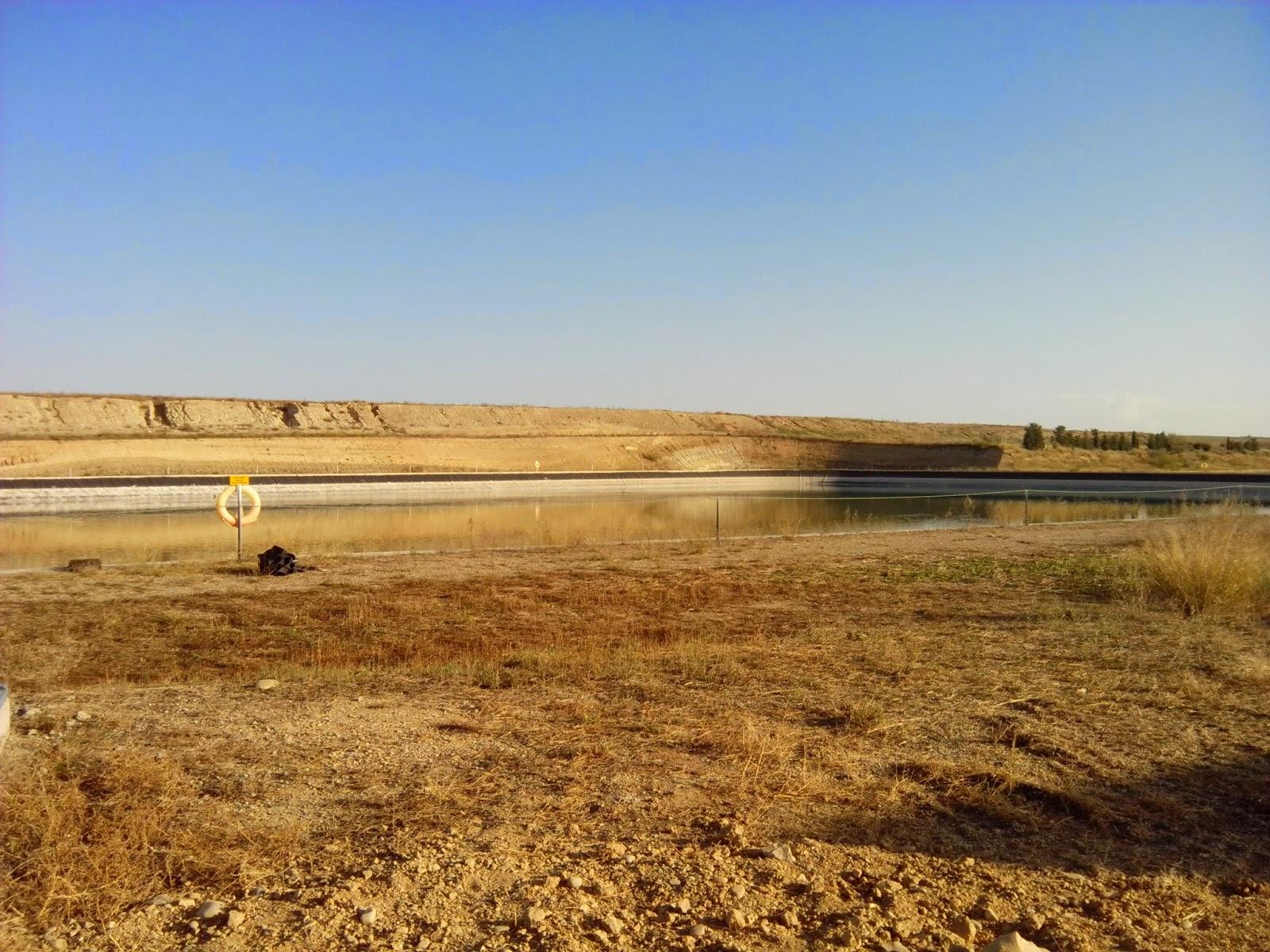 Depósito de agua depuradora de Zuera