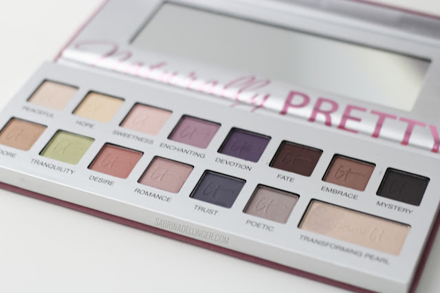 IT Cosmetics Naturally Pretty: Romantics Palette Review + Swatches