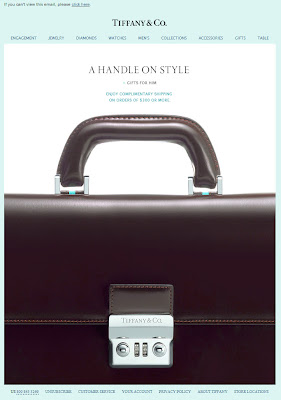 Click to view this June 10, 2011 Tiffany & Co. email full-sized