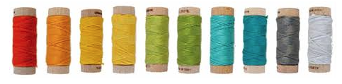 aurifil embroidery thread