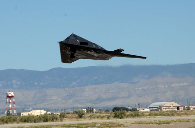 F-117 Nighthawk takeoff