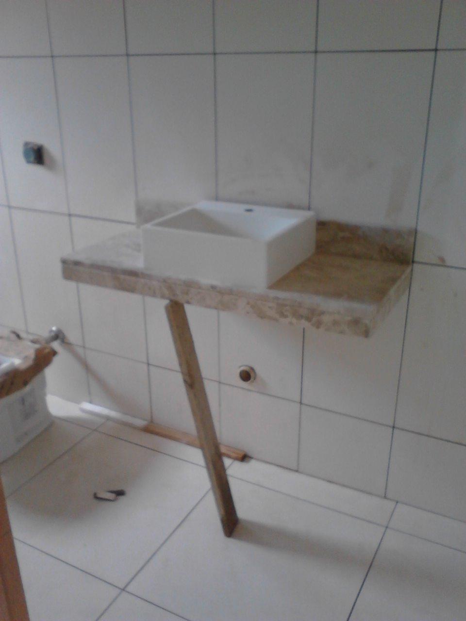 Construindo Nosso Sonho -> Pia Banheiro Sifao