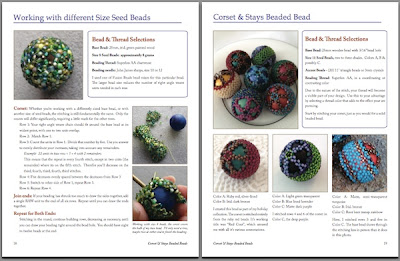 Sample pages from Corset & Stays Beaded Bead Tutorial