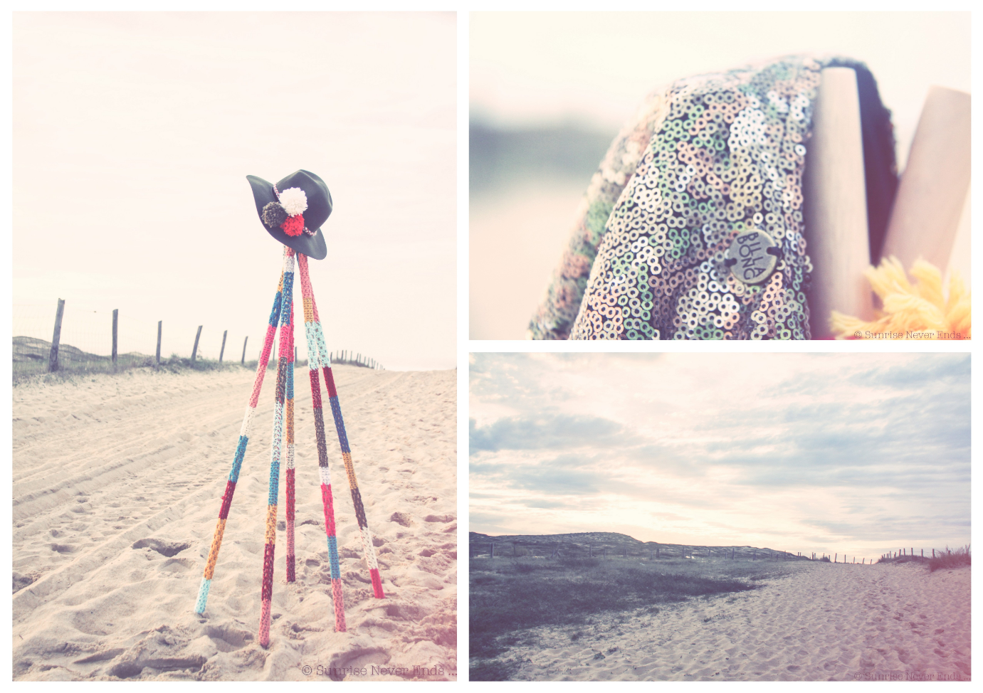 beach shack hossegor,billabong,collective soul,diy,crochet,laine,sapin,guirlande,chapeau,sunrise never ends