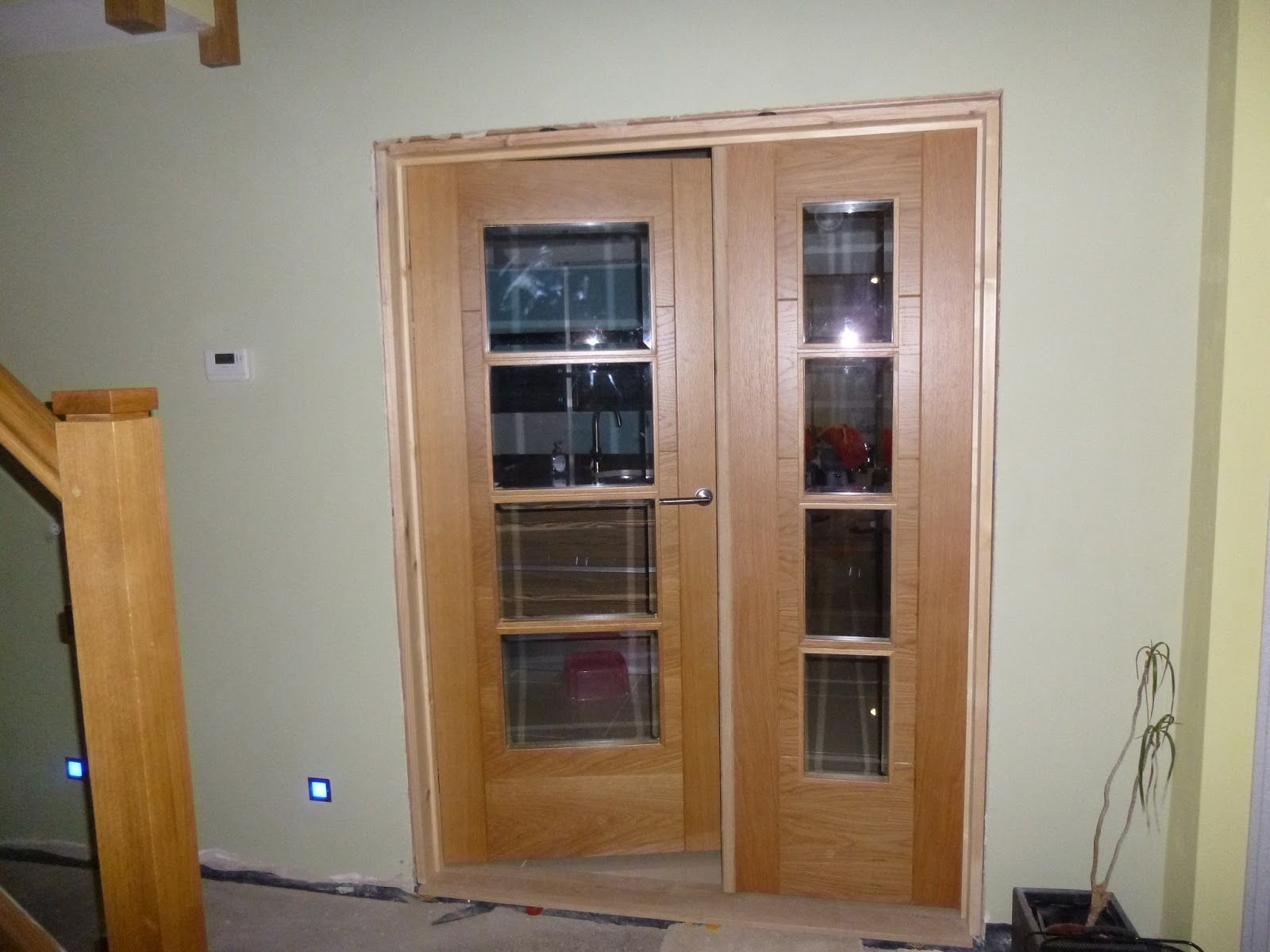 Double doors narrow internal double doors for Narrow double front doors