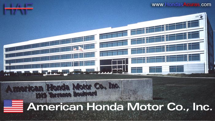 american honda finance corporation torrance california