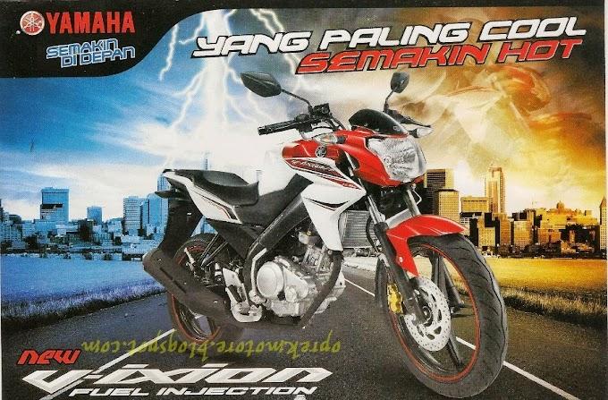 Yamaha V-ixion Sport Terlaris Januari 2014