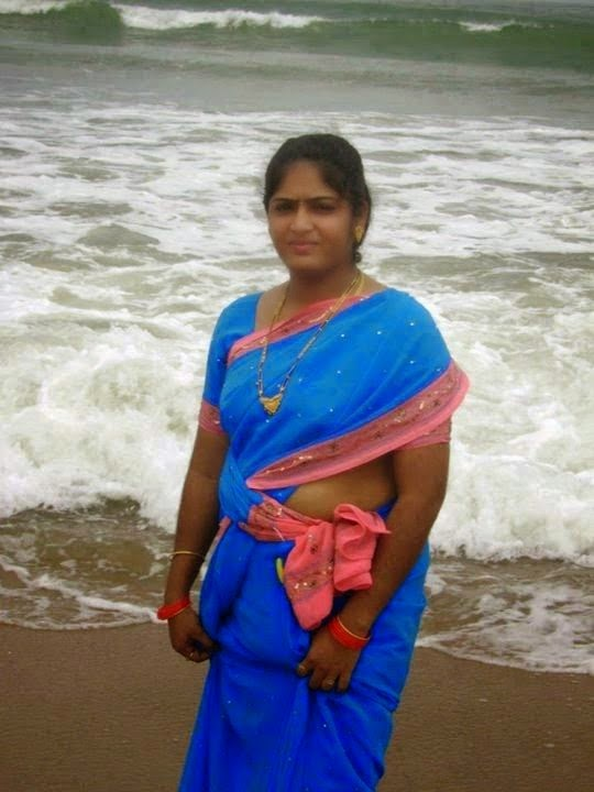 Beautiful Tamil Aunty in Stylish Dress - hot woman dress
