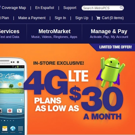 Deals going on at metro pcs