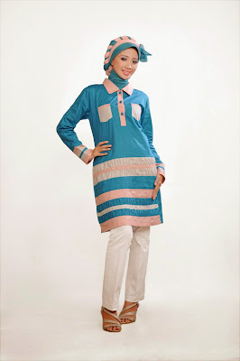 Tunik 020 Tosca dusty pink