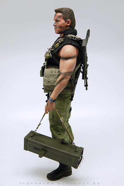 American Sniper Toys : Toyhaven hot toys mms th arnold schwarzenegger as