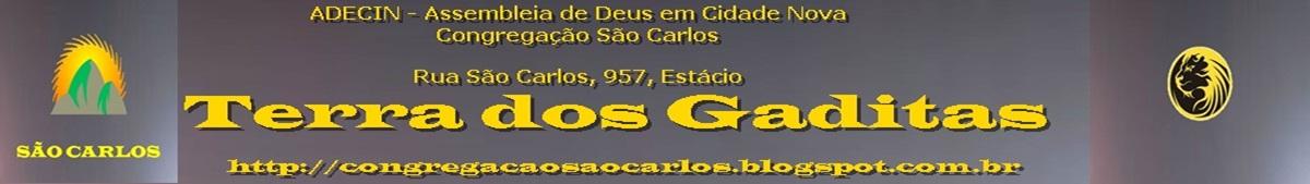 CONGREGAÇÃO SÃO CARLOS