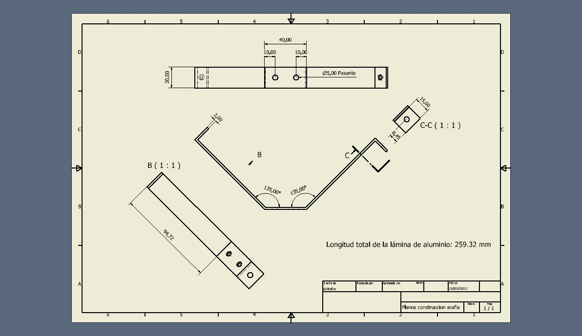 Diario de un telescopio reflector tipo newton pontevedra for Planos de construccion