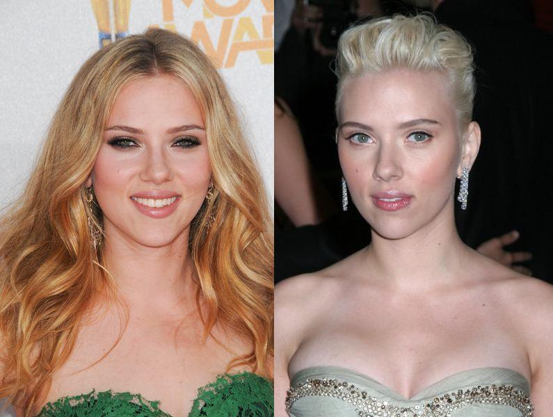 Scarlett Johansson - kolorystyczny typ wiosenny
