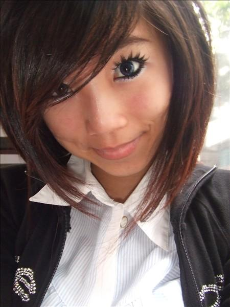 chinese girl hairstyles. Short Japan hairstyle