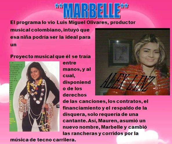 LA HISTORIA DE MARBELLE PRIMERA PARTE