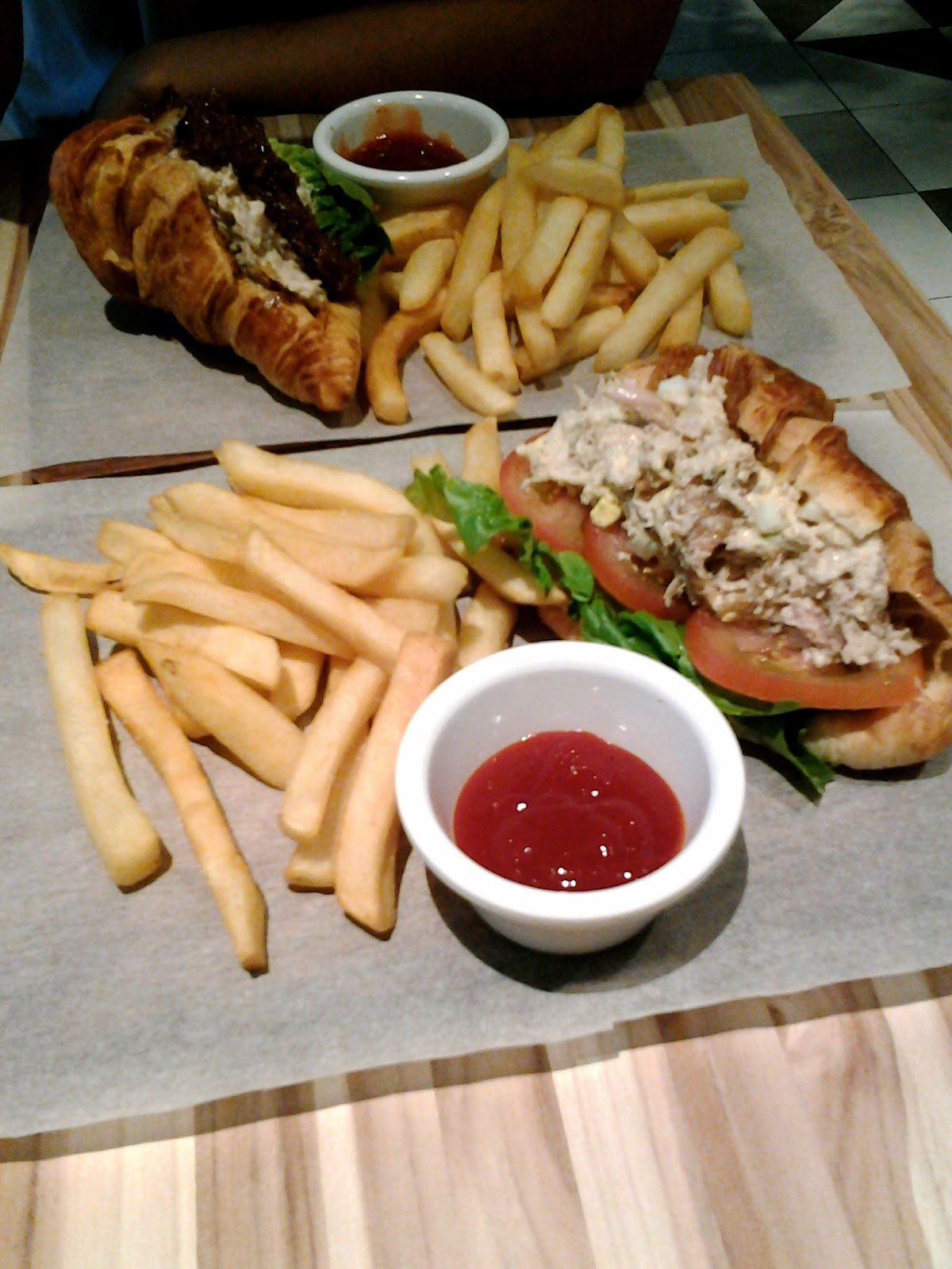Poulet Chicken and Egg Mayo Sandwich Singapore