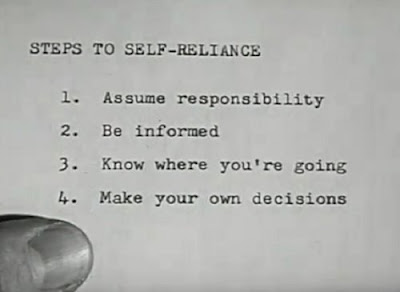 Steps To Self Reliance