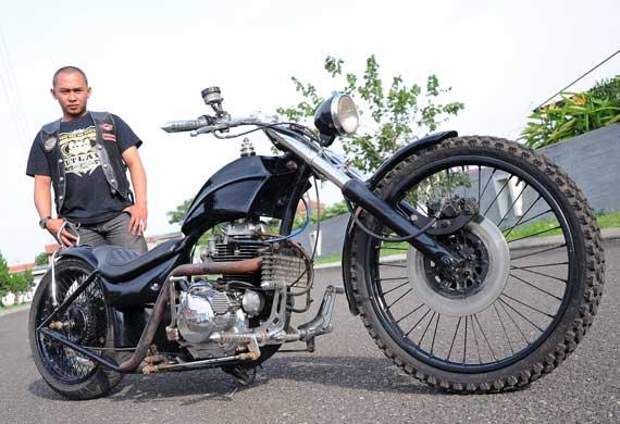 gambar modifikasi motor binter merzy
