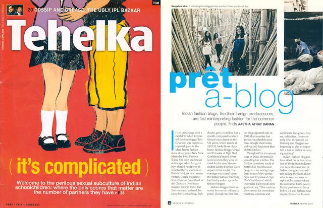 Tehelka Magazine 2012