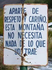 RESPETA LA NATURALEZA