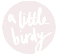 a little birdy blog