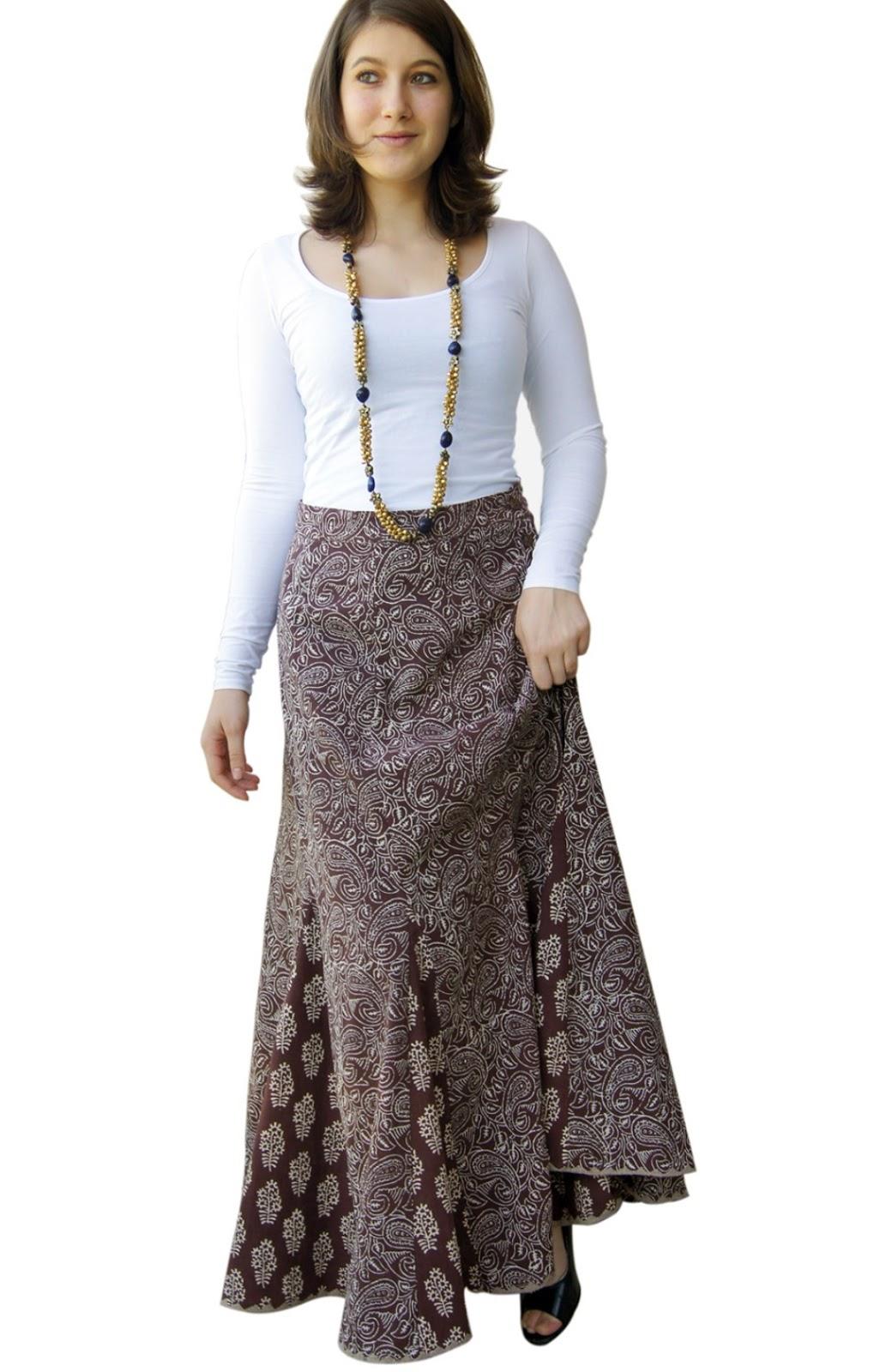 Model Rok Panjang Muslim