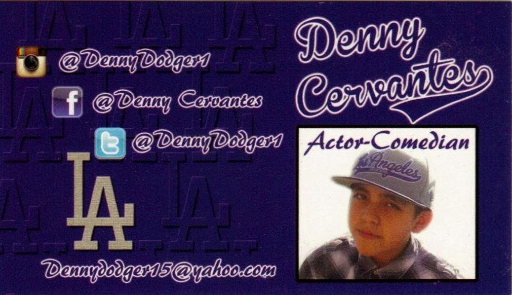 Comedian Denny Cervantes